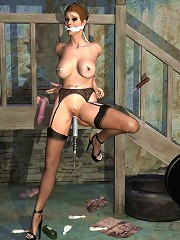 Abused 3D Forest Giant pumps cute Girlie